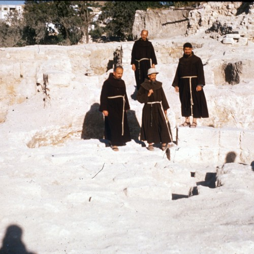 Father Bagatti and the excavations of Nazareth