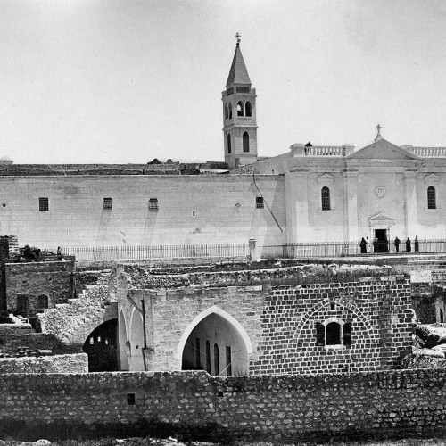 Church, xenodochius and Monastery of the Annunciation, Nazareth, 1882