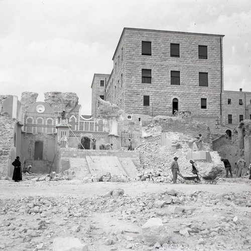 The archaeological excavations carried out in Nazareth in the 1960s