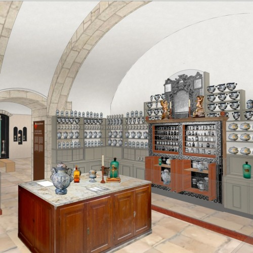 Pharmacy in the new museum