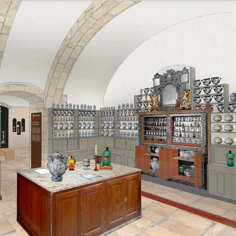 La Farmacia nel nuovo museo