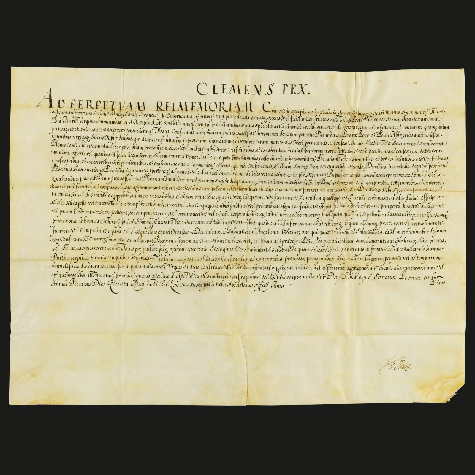 Bolla di Clemente X
