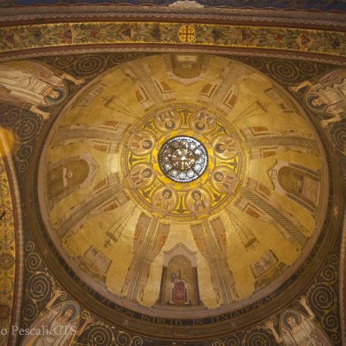 Mosaico de la cúpula italiana de Getsemaní, D'Achiardi, 1927