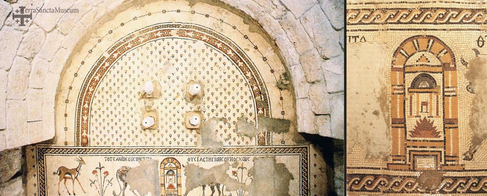 Mosaici del Monte Nebo, VI-VII secolo