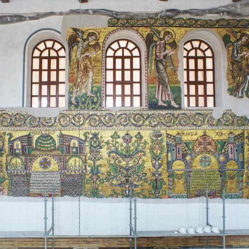 Mosaici parietali di epoca crociata della Basilica di Betlemme, XII secolo